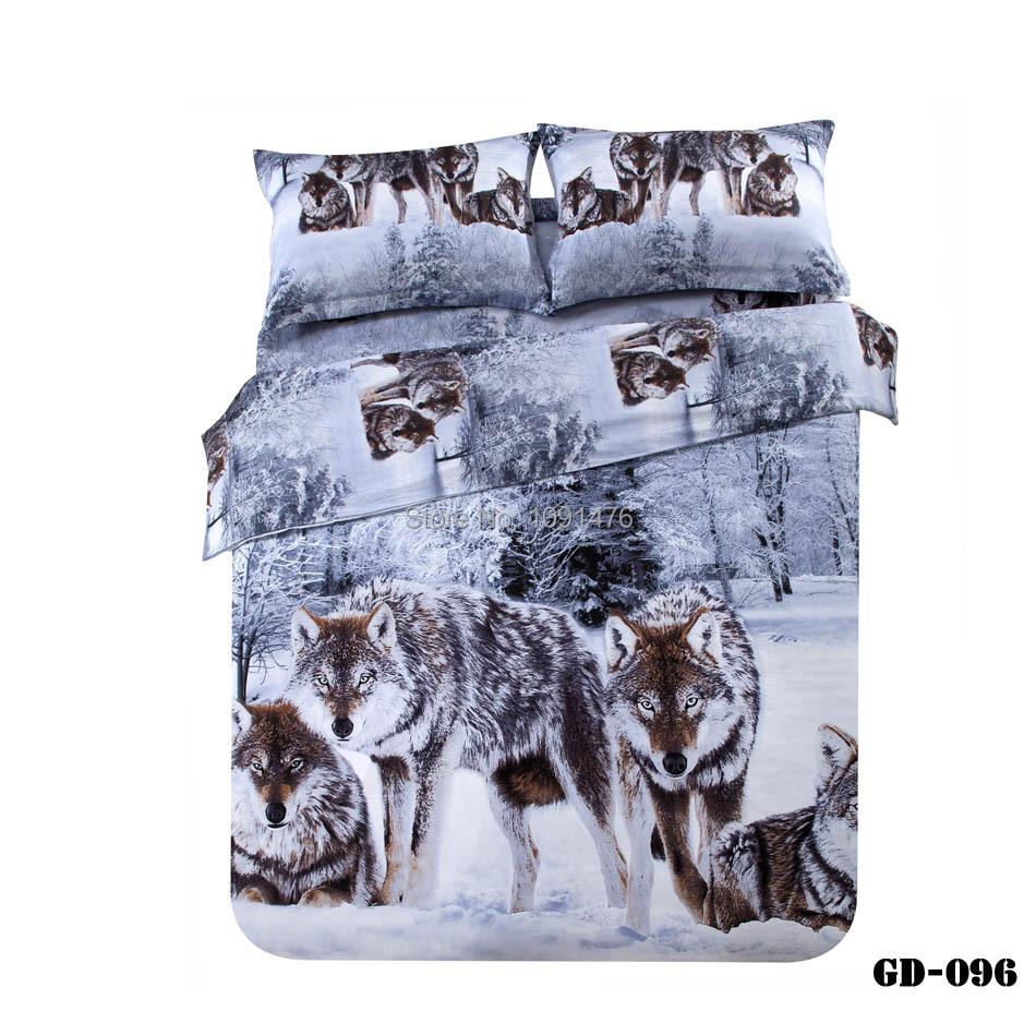 4pcs per set Hot sells 3d Animals bedding set(China (Mainland))