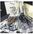 2016 New Summer 100 Real Pure Silk Scarf Women Shawls Classic Design Patterns Brand Scarf Quality