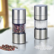 2016 Stainless Steel Manual Salt Pepper Mill Grinder Seasoning Cooking Tools Kitchen Accessories for Home Restaurant China