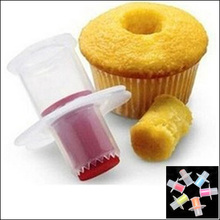 by DHL or EMS 2000 pcs Cupcake Cakes Model Corer Plunger Cutter Pastry Decorating Divider Filler Model Kitchen Tools(China (Mainland))