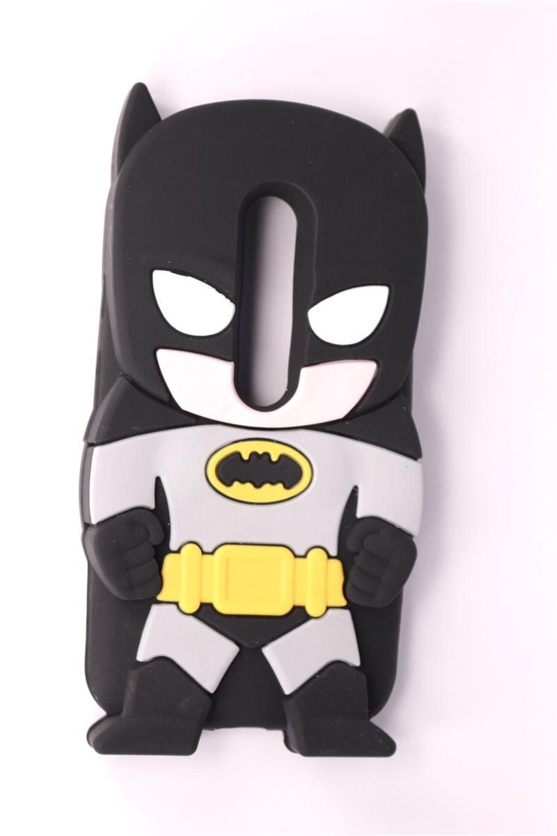 Mobile Phone Case For Motorola Moto G3 (G 3rd Gen 2015) 3D Cartoon New Style Batman Pattern Case Soft Silicone Phone Back Cover(China (Mainland))