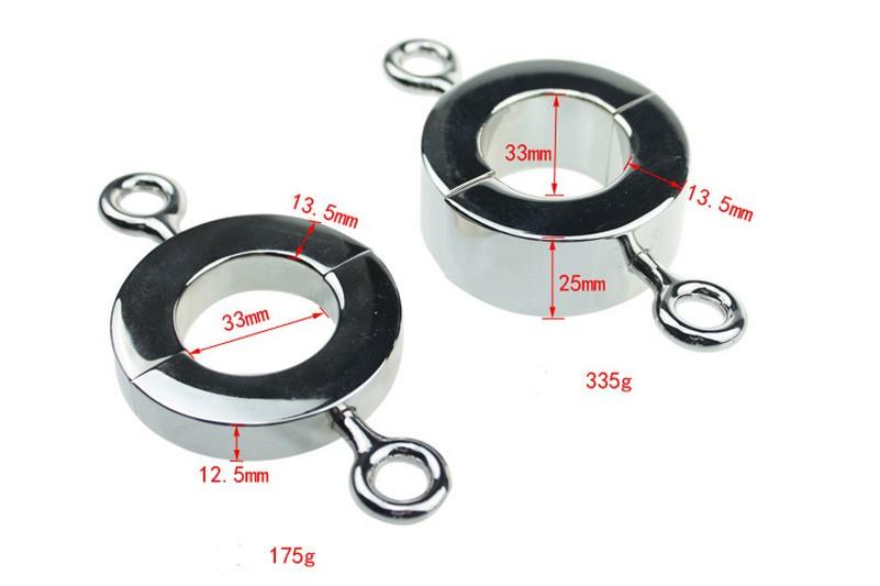 Metal Cock Ring x2