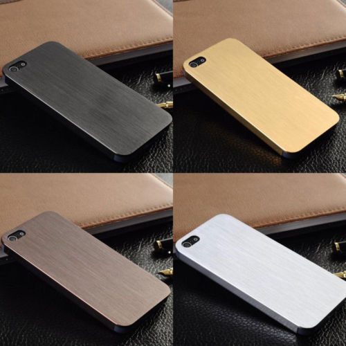 Luxury 0.3mm Metal Aluminum Back Cover Hard Case for iPhone 4 4s(China (Mainland))