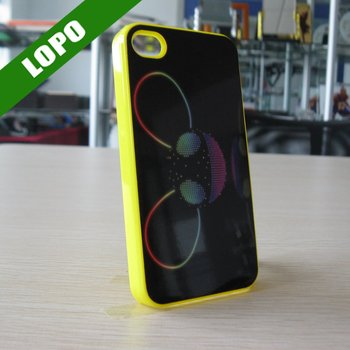 Big Discount-Sublimation Case For iphone4/4s (Plastic material with coated pure white aluminium sheet)