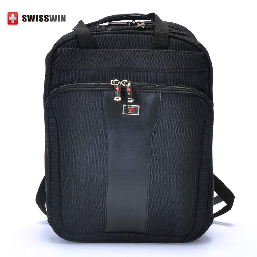 SWISSWIN Multi-function Laptop Backpack Swissgear Men Business Black Double Shoulder Bag Outdoor Large Travel Backpacks SW8981<br><br>Aliexpress