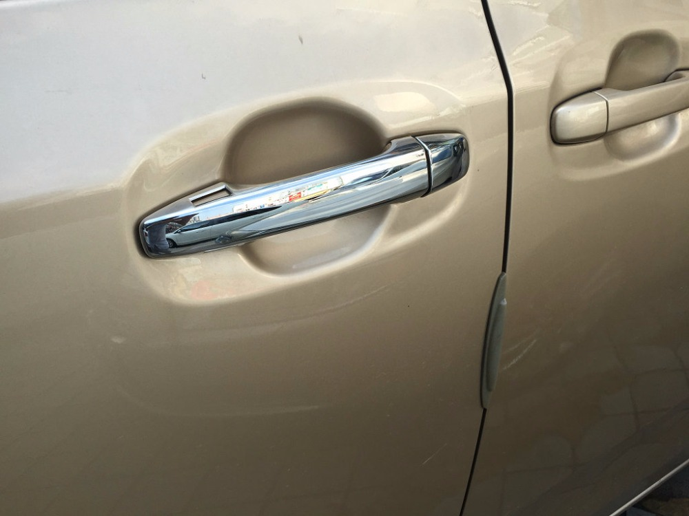 Auto chrome accessories,door handle cover trim toyota Sienna 2015 2016,ABS chrome, - Beautify your car, enjoy life store