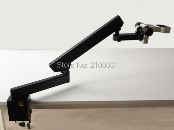 FREE SHIPPING ! ARTICULATING STAND WITH CLAMP FOR STEREO MICROSCOPES+A3(China (Mainland))