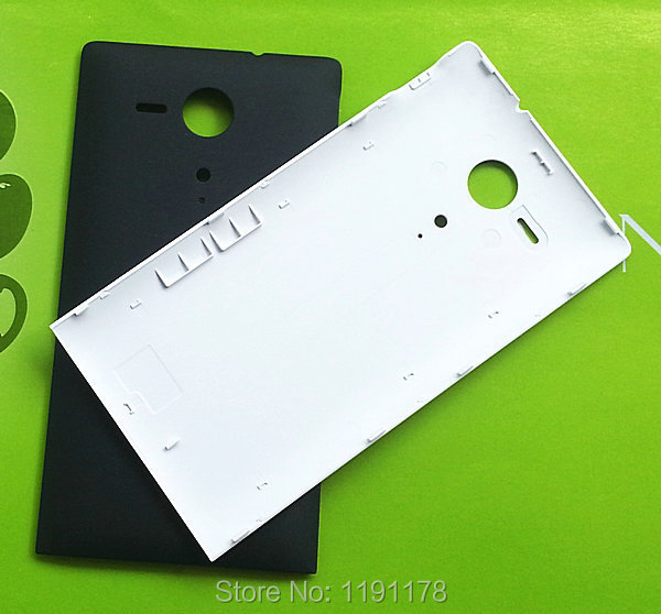 1Pcs Black/White Original For Sony Xperia SP M35h C5302 C5303 C5306 Battery Back Cover Housing case Door Rear Cover(China (Mainland))