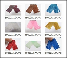 PVC Glitter Synthetic Leather Eco-friendly Glitter Fabric for Holloween Decor(China (Mainland))