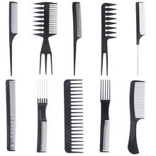 10pcs Make Up Comb Professional Hair Combs Set Anti-static Hair Care Hairbrush For Women  WBU116(China (Mainland))