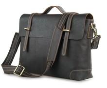 Brand Men casual Vintage genuine Leather bags Men  business Crossbody Bag Shoulder Messenger Bag Briefcase handbags freeshipping(China (Mainland))