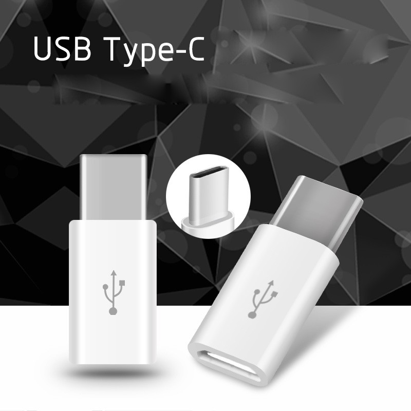 Mini Micro USB female to Type c male Type-C Cable Adapter Charging Data Sync Converter for Samsung Xiaomi 5 Letv