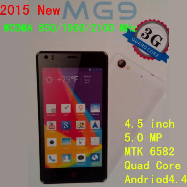 Мобильный телефон Smart Phone Quad MT6582 MG9 GPS + 3G + GSM 4,5 4.5 4.4 4 S7 мобильный телефон t smart smart g18 3g 200