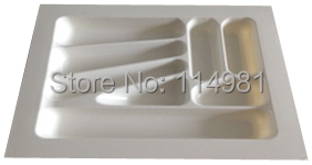Plastic cutlery tray for kitchen drawer width 500mm depth 500mm(China (Mainland))