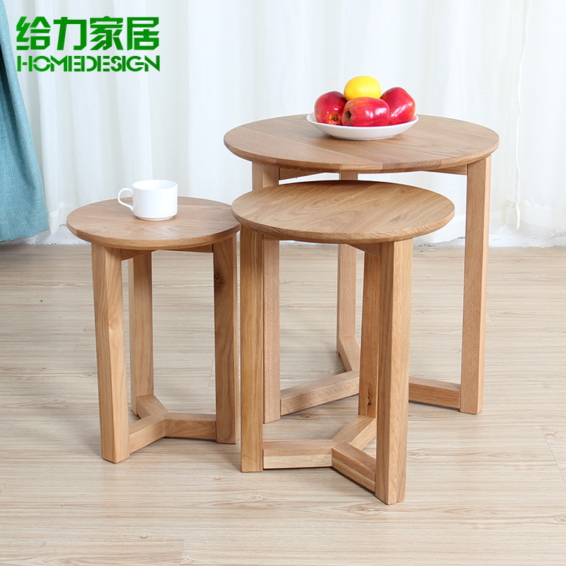 Solid Wood Coffee Table A Few Small Edge Angle Several