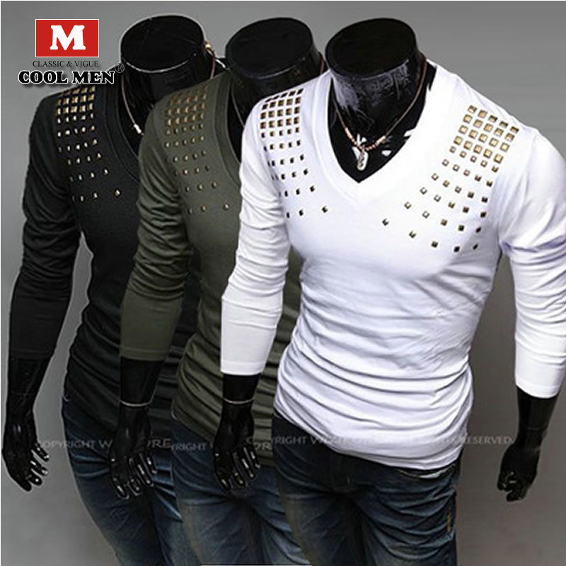 T-shirt Men 2015 New Fashion Brand High Quality Casual T-shirt Men Cotton Shirt For Men Luxury Sport Men's T-shirt  Hot Selling(China (Mainland))
