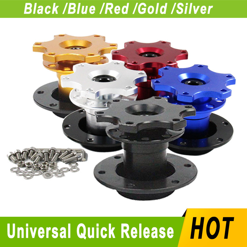 Universal Racing Car Steering Wheel Quick Release Hub Boss Kit Adapter Volante Car Quick Release Steering Wheel(China (Mainland))