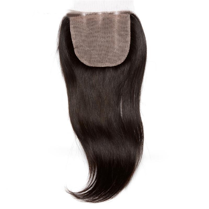 6A Malaysian Straight Hair Silk Base Closure Middle/Free/3 Part Malaysian Virgin Hair Straight Closure Sunny queen Hair Products<br><br>Aliexpress