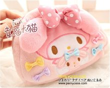 Rnycess 2012 my melody, lovely mirror/wallet/cosmetic bag, a choice, the factroy wholesale and retail(China (Mainland))
