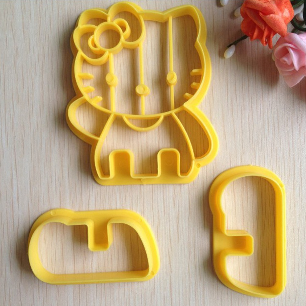 Hello Kitty Shape Cake Cookies Machine Plunger Paste Sugar Craft Decorating -A121(China (Mainland))