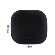 AUTO car-styling 2pcs PVC Black car accessories in china blinds for the side window of the car for Sun Shade Cover Block Au 12