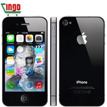 100% первоначально открынный iPhone 4S мобильный телефон 32 ГБ ROM двухъядерный WCDMA 3 г WIFI GPS 8MP мобильные телефоны один год гарантии(China (Mainland))