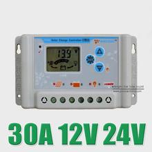 solar Charge Controllers LCD regulator with USB 5V