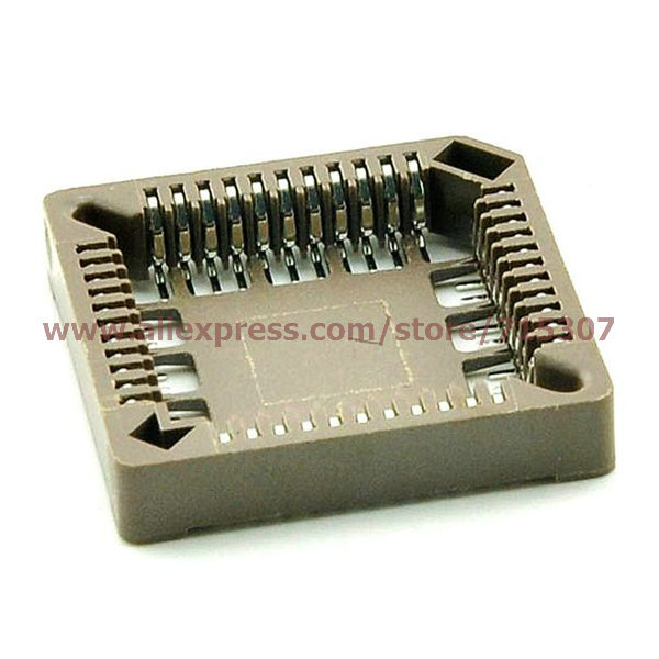 10pcs PLCC44 smd ic socket adapter free shipping(China (Mainland))
