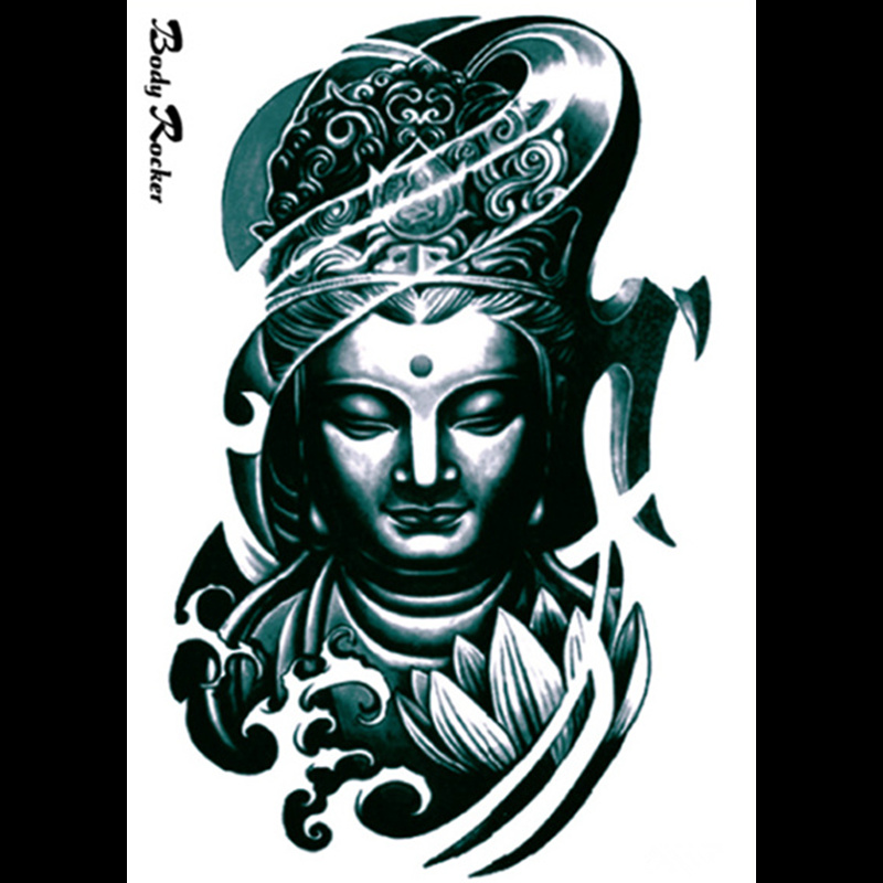 online buy wholesale buddha tattoos designs from china buddha tattoos designs wholesalers. Black Bedroom Furniture Sets. Home Design Ideas