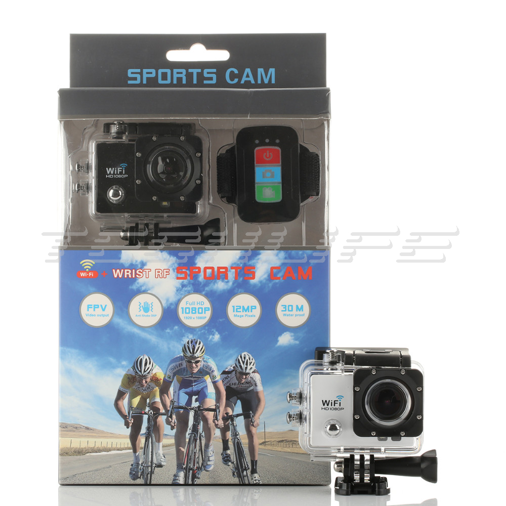 Original SJ9000 WIFI Action Camera Remote Control Go Pro style camera Waterproof 30M Sport Camera 12MP