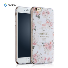 """Fashion Rear Cover For Apple iPhone 6 6S 4.7"""" 3D Pattern Painted Soft TPU Mobile Phone Protective Back Case"""