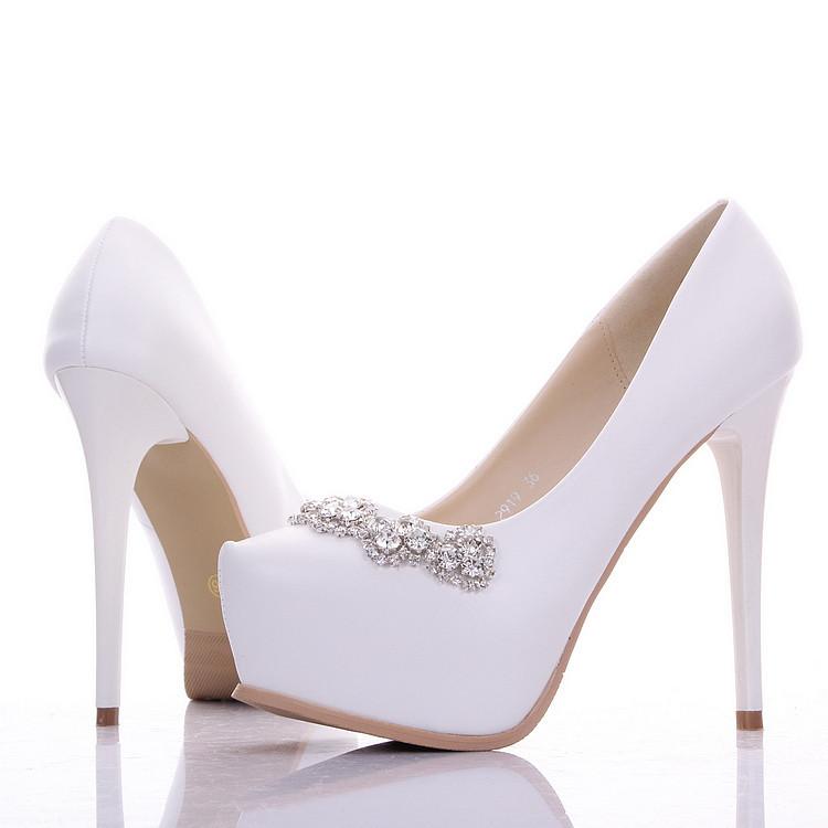 free shipping 2015 new beautiful wedding shoes