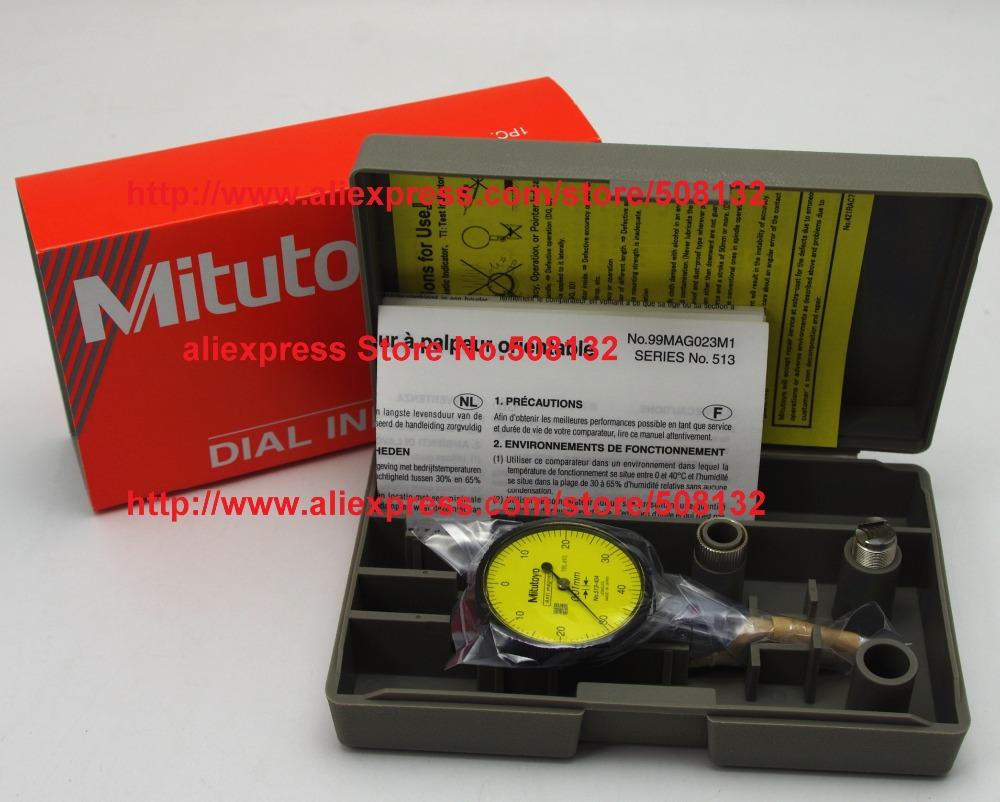 Made in Janpa Mitutoyo 513-404E Dial Quick-Set Test Indicators 0-40mm X 0.01mm !!Brand New!!(China (Mainland))