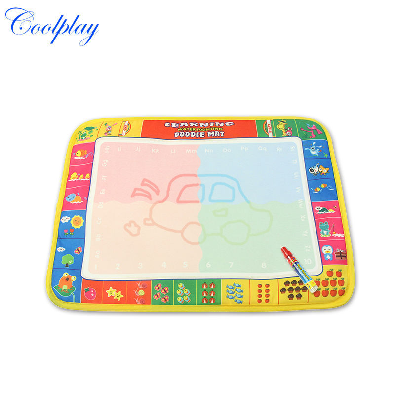 39X29cm Baby Kids Add Water Magic Pen Doodle Painting Drawing Play Mat Toys Board Gift Christmas CP1378nc - Coolplay Trading Co.,Ltd store