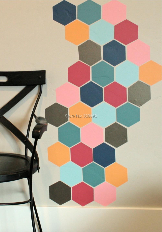 Online kopen wholesale honingraat muur uit china honingraat muur groothandel - Driedimensionale spiegel ...