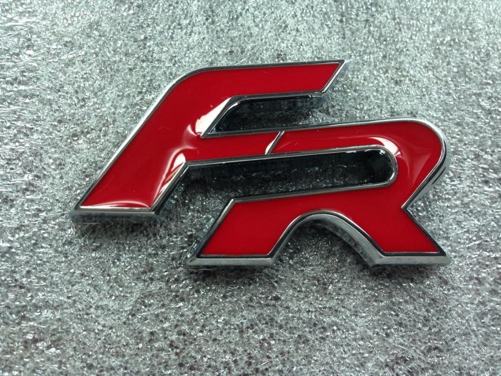 FR Red for LEON IBIZA EXEO Emblem(China (Mainland))