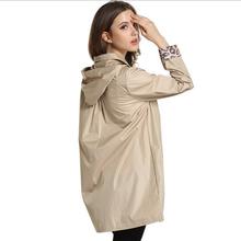 2016 fashion polyester hooded lady rainwear coat suit waterproof women raincoat long rain jacket for outdoor hiking camping(China (Mainland))