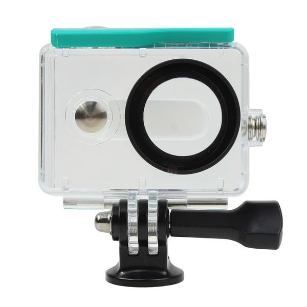 F15597/8 Waterproof Cam Underwater Diving Protector Protective Housing Case For Xiaomi xiaoyi Yi Action Camera Accessories FS