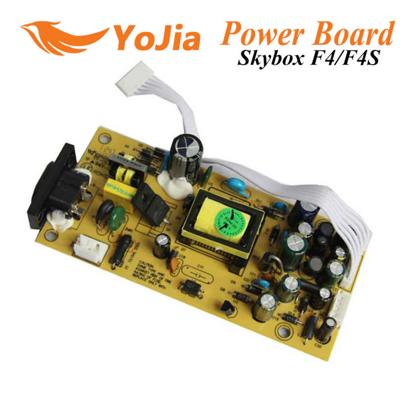 Power Supply board SMPS for Original Skybox F4 F4S GPRS satellite receiver with VFD displayer F4 power board free shipping post(China (Mainland))