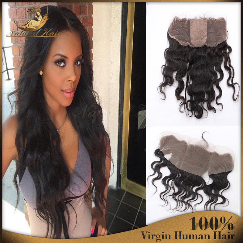 Full Brazilian Lace Frontal Closure 13x4 With Free Shipping Ear to Ear Lace Frontal With Baby Hair Brazilian Body Wave Frontal<br><br>Aliexpress