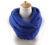 20 Colors Fashion Solid Color Scarves Light weight Circle Loop Women Infinity Scarf Plain Snood For Ladies Shawl Cheap Scarfs(China (Mainland))