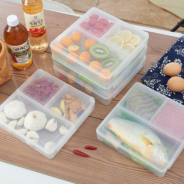 Ящик для хранения кухня отходов остатки коробки свежий анти-запах сепаратор обед-пикник в поле свч холодильник холодильник коробки