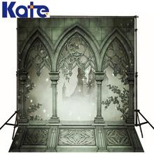 Kate Fantasy Photography Scenic Backdrops Retro Building Gallery Background No Wrinkles Fond Studio Photo