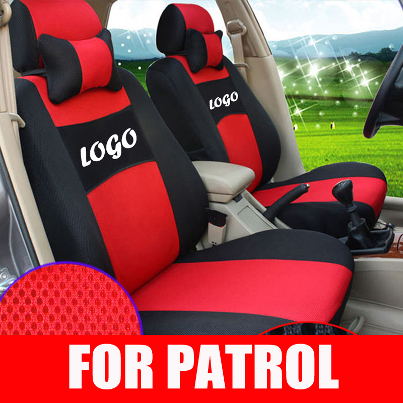 car seat custom fit for nissan patrol car seat covers sets mesh car styling seats cushions. Black Bedroom Furniture Sets. Home Design Ideas