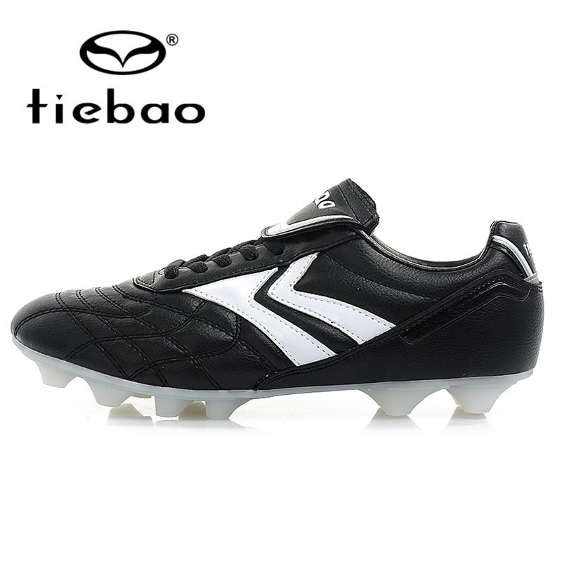 TIEBAO Professional Outdoor Football Boots HG & AG Soccer Cleats Men Women Athletic Training Soccer Shoes botas de futbol(China (Mainland))