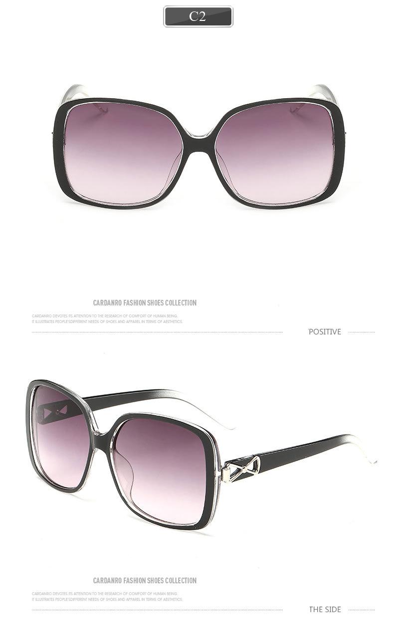 Fashion Classic Sunglasses butterfly Sun glasses women Black plastic frame uv protection sunglassrs for women