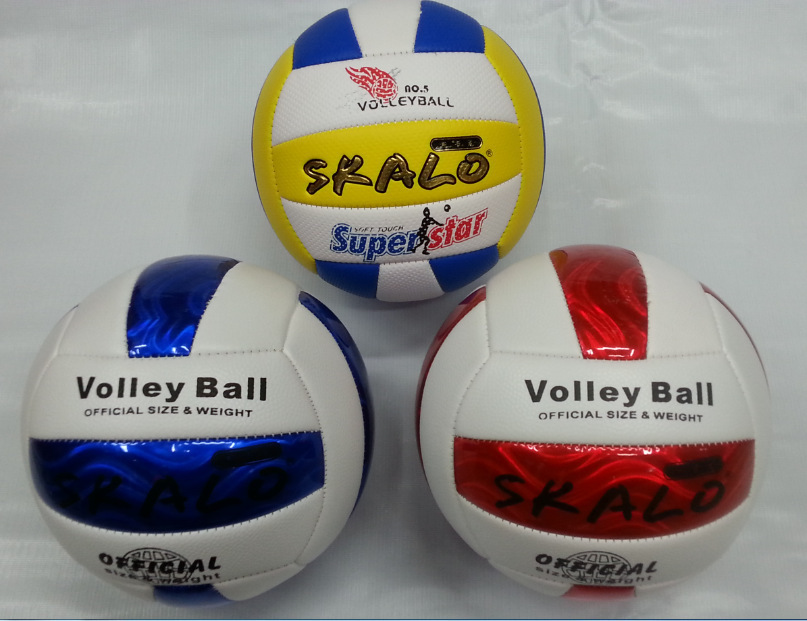 New Arriver Profession Official Game Volleyball Size High Quality Size 5 PU leather Volleyballs Training Ball Hot Sale(China (Mainland))