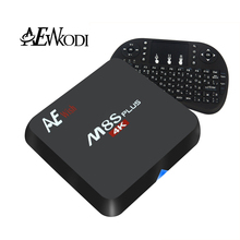 Anewkodi M8S Plus 2GB/16GB Android TV Box S905 android 5.1 quad core 1000M KODI16 media player better than rk8 kiii set top box(China (Mainland))