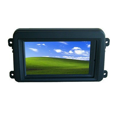 7 Inch Double DIN Touch Screen VGA Monitor With GOLF Frame for Car PC(China (Mainland))