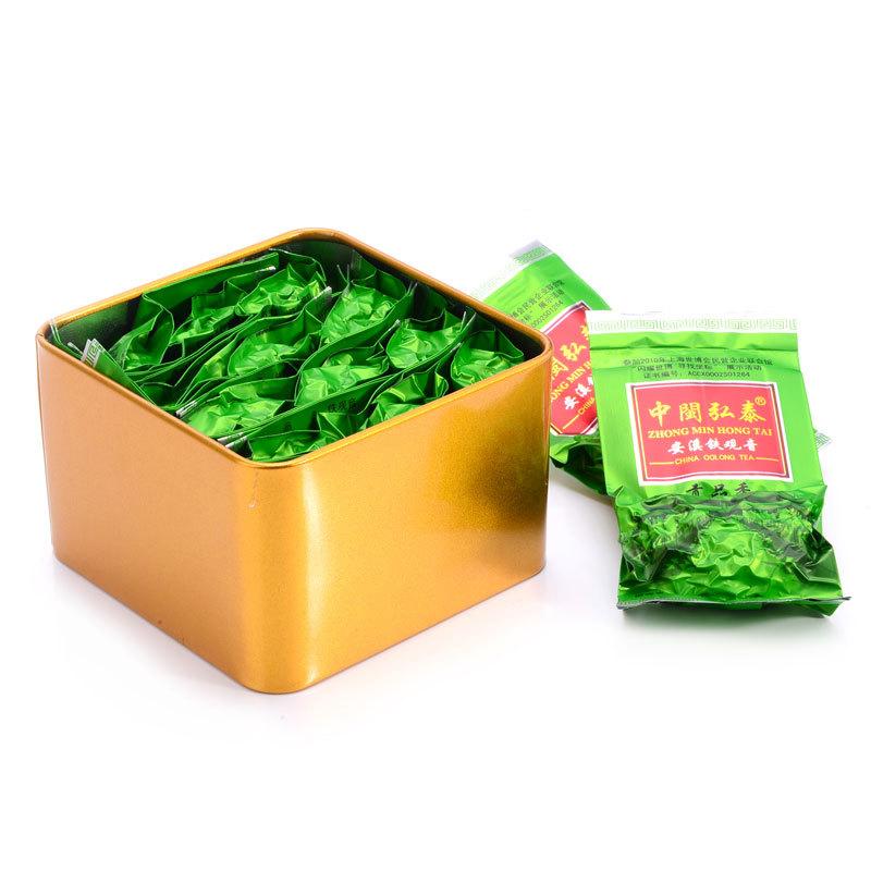 Free shipping Wholesale 2015 new advanced green tea 84g Tieguanyin Tieguanyin organic tea amp food diet tea China Green gift bag(China (Mainland))